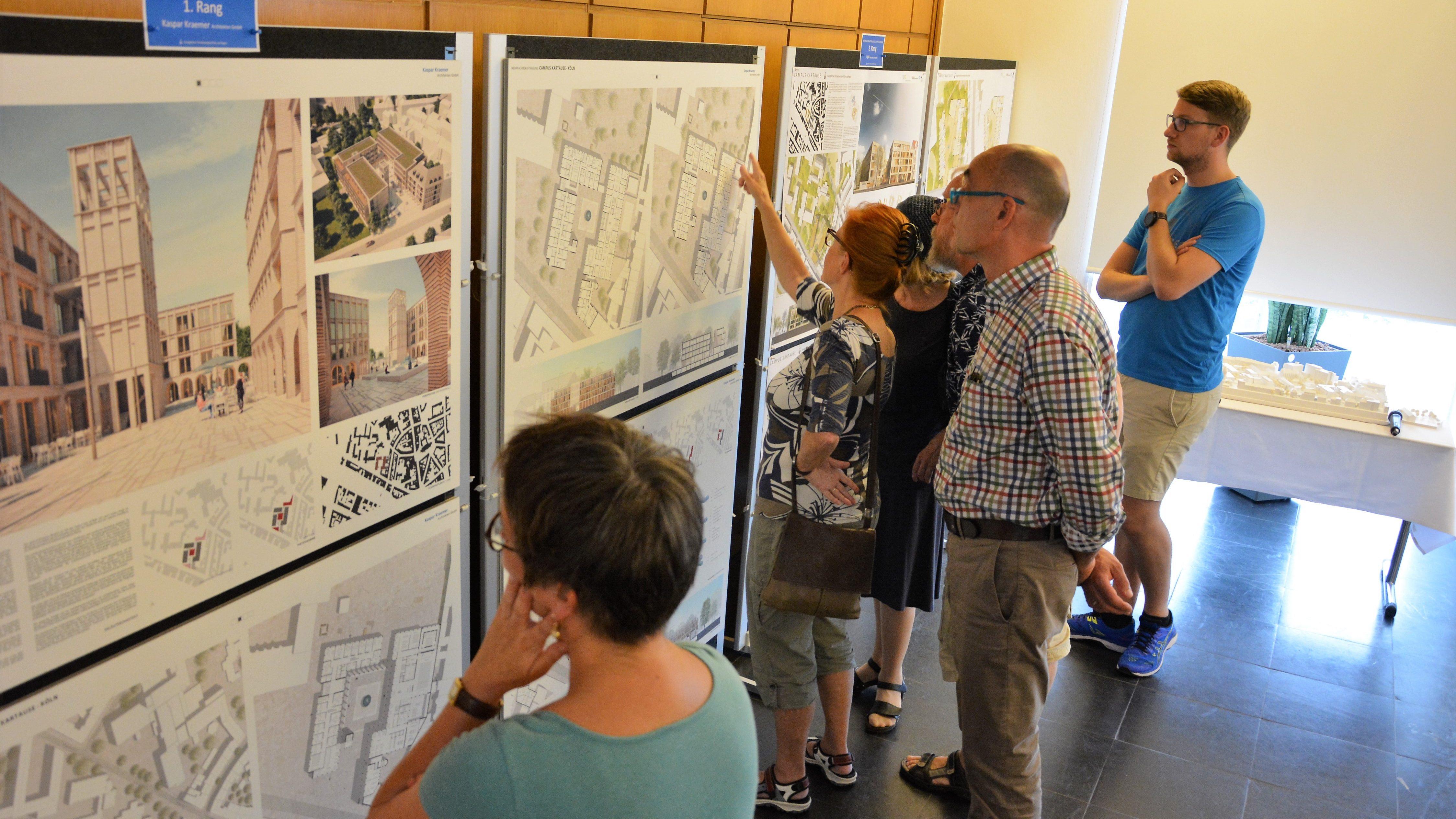 """""""Campus Kartause"""" in 3D – Ausstellungseröffnung im Haus der Evangelischen Kirche"""